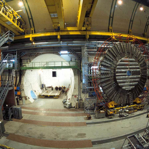 Construction of the particle accelerator for CERN
