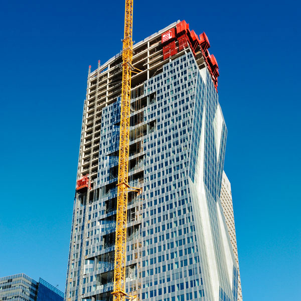 Delivery of the Majunga Tower in the Paris business district