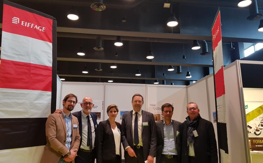 Eiffage participe au 9e Forum international bois construction