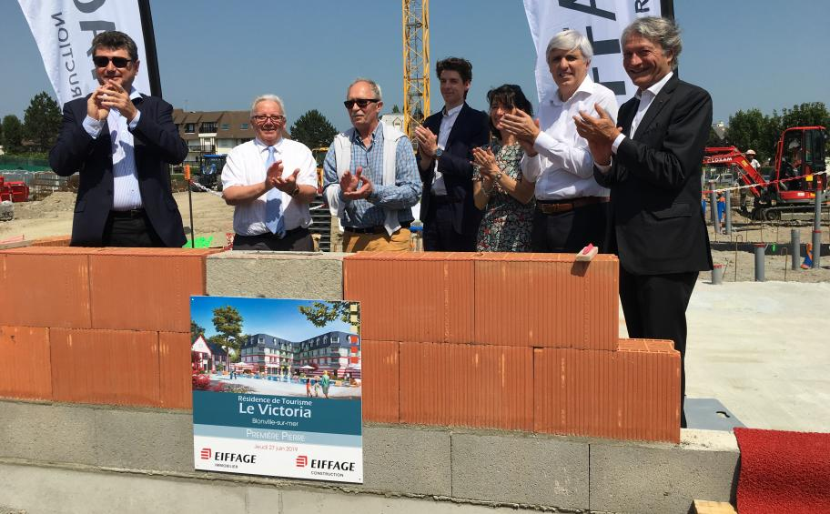 New tourist residence in Blonville-sur-Mer for Eiffage Immobilier