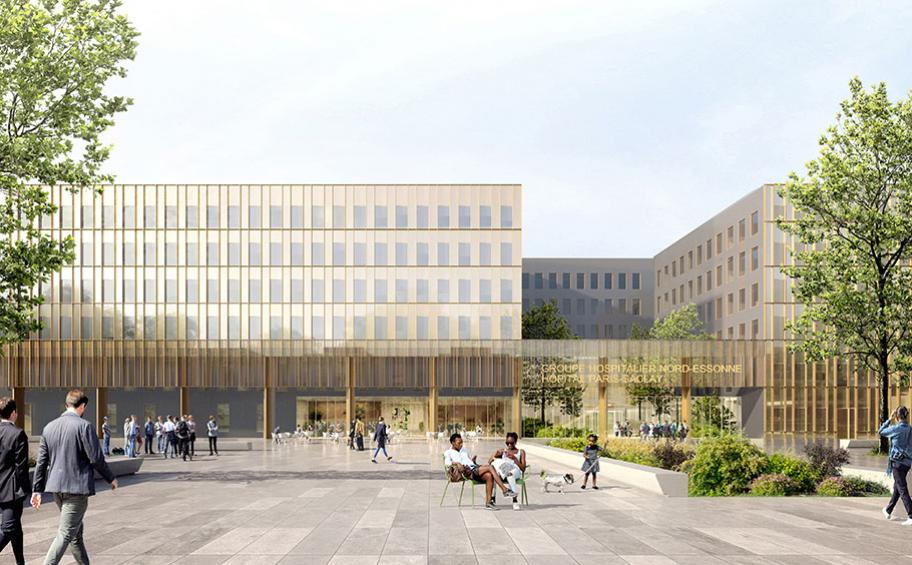 Eiffage wins the contract for the design, build and maintenance  of the Paris-Saclay hospital, worth €141 million