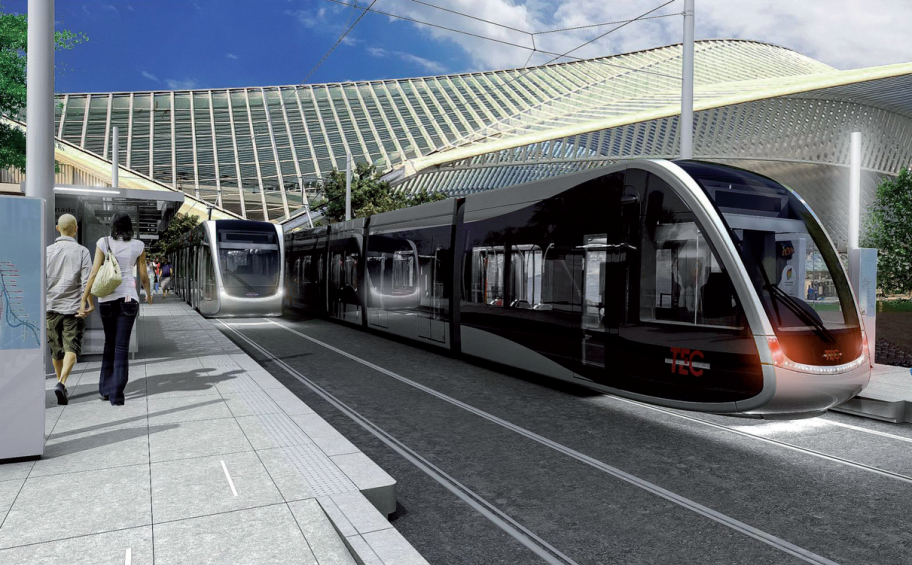 Construction of the new tramway line in Liège begins!