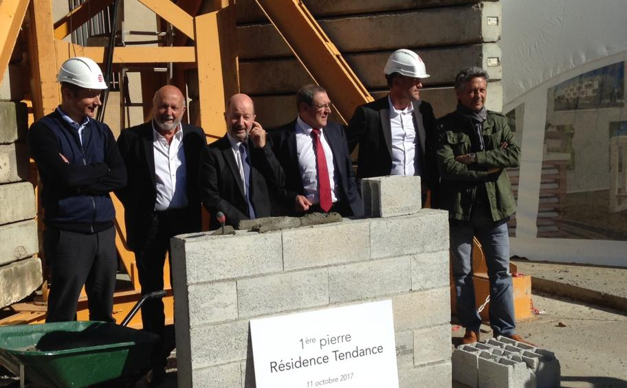 In Blagnac, Eiffage Immobilier lay the first stone of the residence Tendance