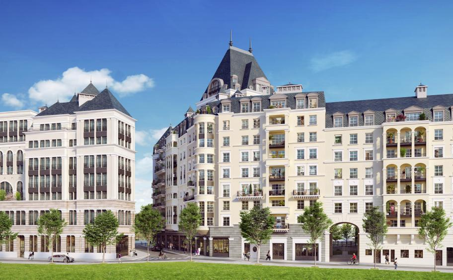 Eiffage Immobilier is currently building the Orangerie located in the heart of the ZAC Bergères of Puteaux (92)