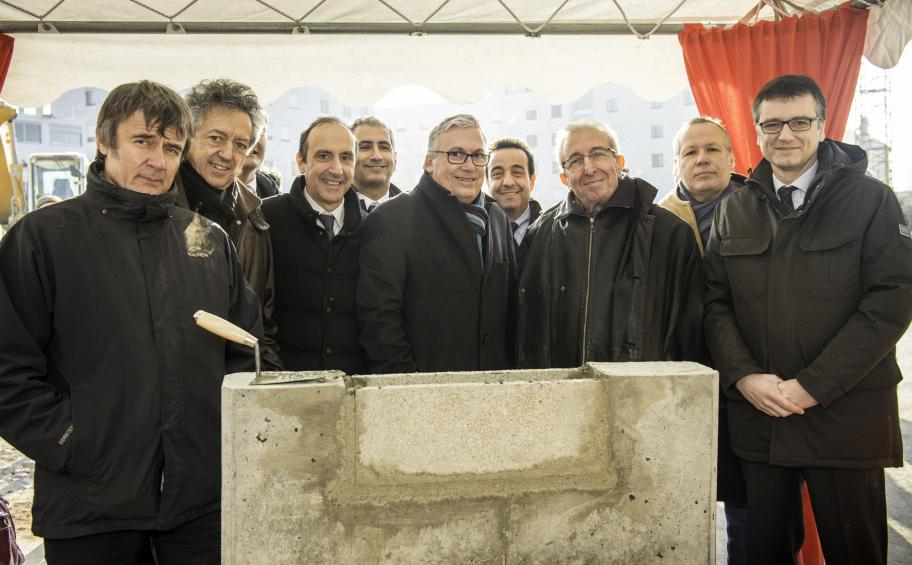 Foundation stone laid for the new Blanqui sector in Bagnolet, France