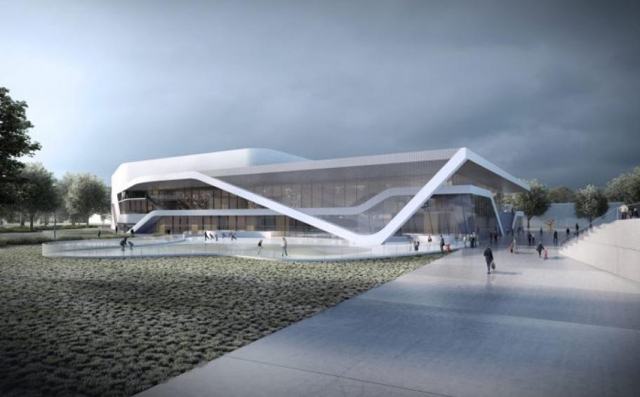 Ice rink Saint Serge in Angers: Eiffage Construction begins the works