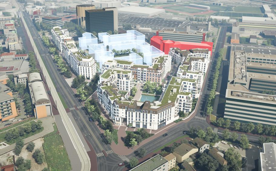 Eiffage Aménagement creates the district the Grand Canal in Clamart