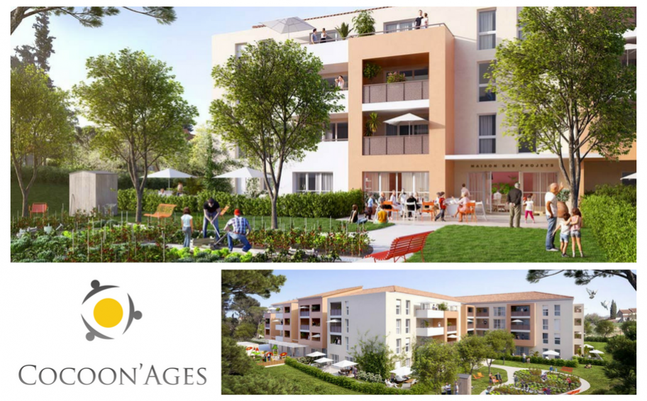 Intergenerational housing: Eiffage Immobilier launches the works of a new residence in Aubagne