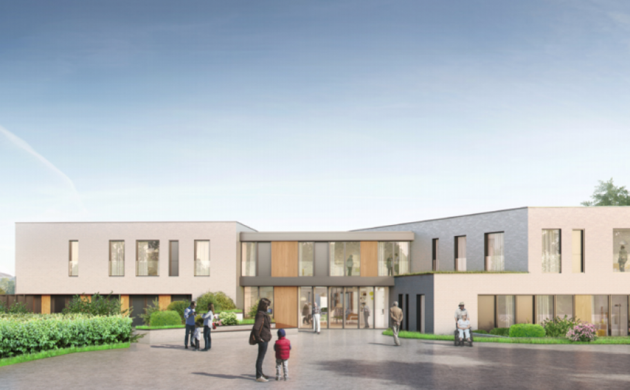 Eiffage Construction starts the building work of an EHPAD and a sheltered housing to the hospital center of Bapaume (62)
