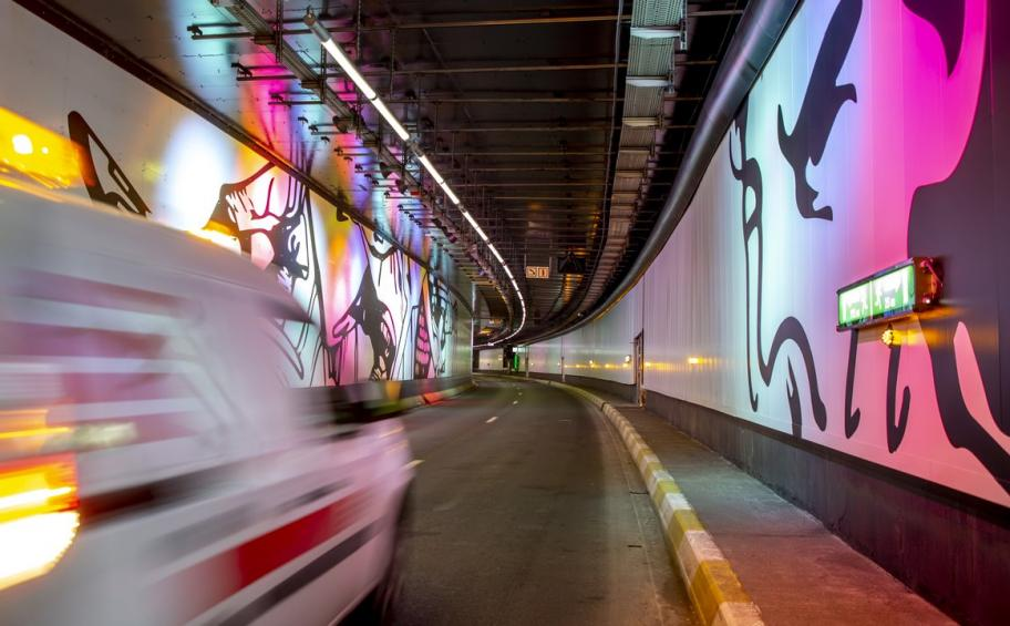 Belgium: The Hal Gate tunnel, now ultra-connected, is completely renovated in Brussels!