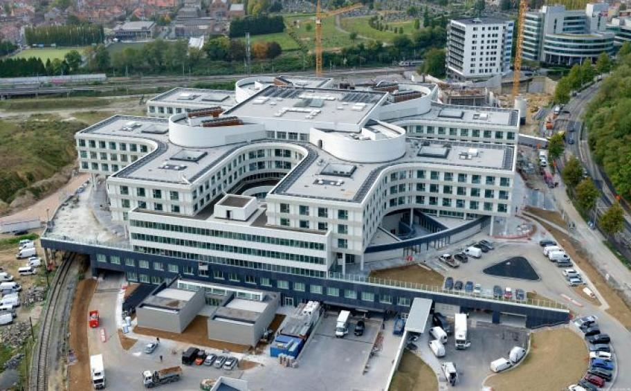 The new Chirec hospital, built by Eiffage Benelux, welcomes its first patients in Auderghem in Belgium