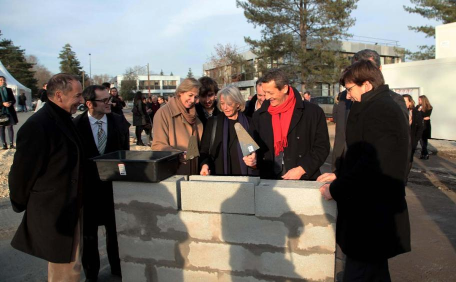 Foundation stone laid for the Cust'Home project in Bordeaux