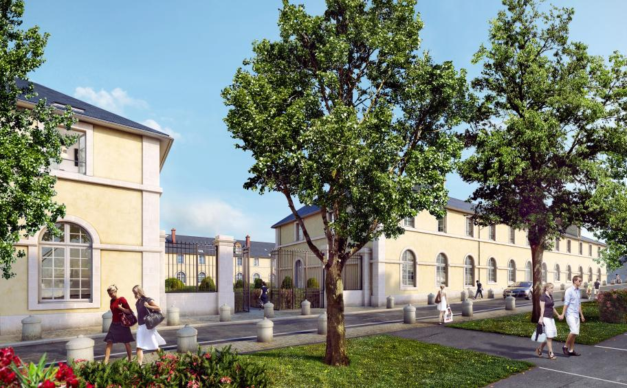 Eiffage Immobilier launches the works of La Cour d'Eylau  in Compiègne