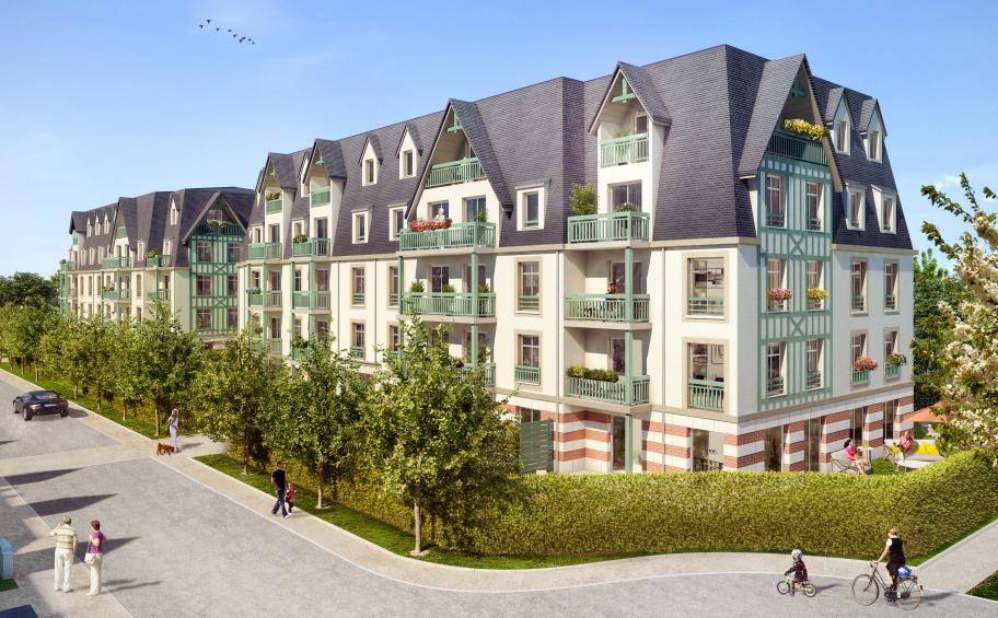 New property development launched in Deauville: Résidence des Arts