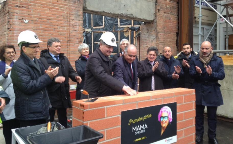 Eiffage Immobilier lays the foundation stone of the Mama Shelter hotel in Toulouse