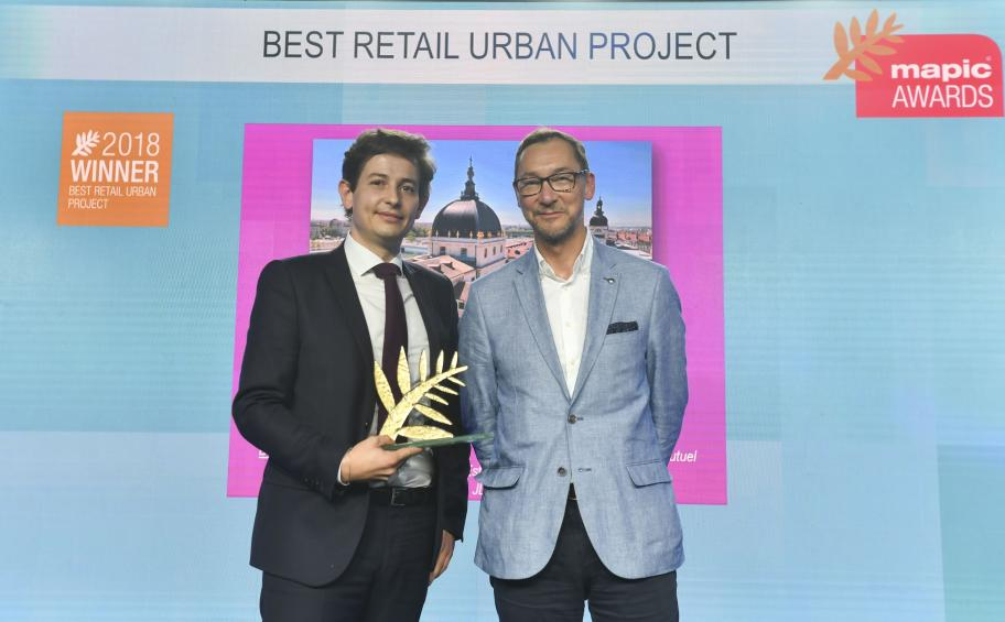 The Grand Hôtel-Dieu from Lyon wins the best retail urban project award at the Mapic Awards 2018