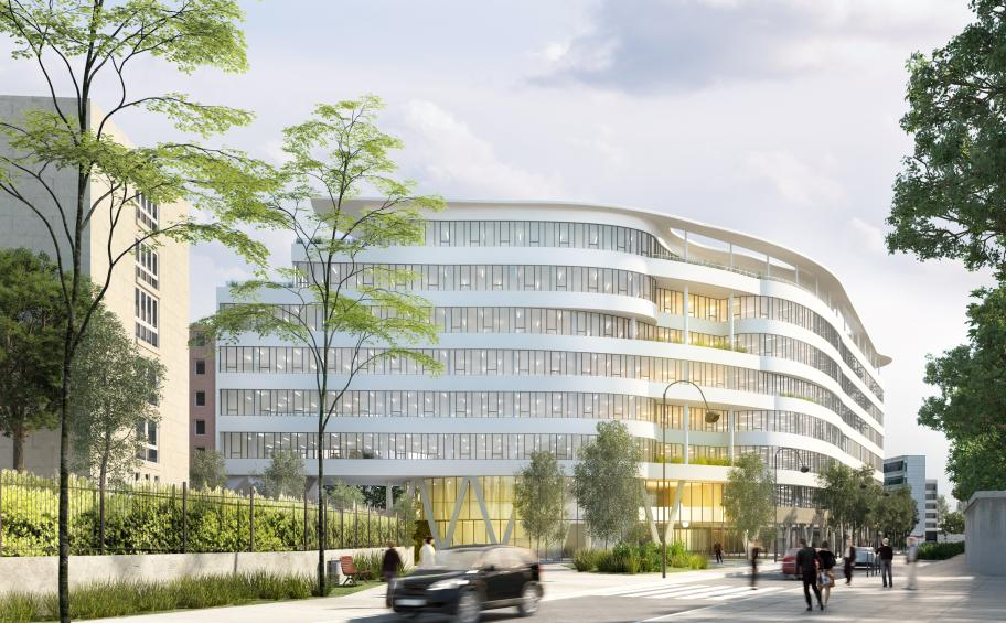 Eiffage Construction launches the construction work on Convergence, the Danone Group's new location in Rueil-Malmaison