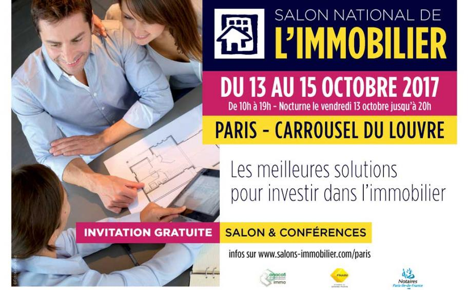 Retrouvez Eiffage Immobilier au salon national de l'immobilier – stand 36